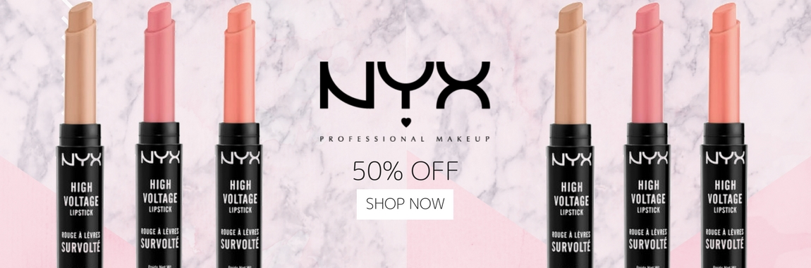 50% off NYX lipsticks only at Unineed.com!