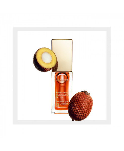 Clarins Instant Light Lip Comfort Oil - Tangerine