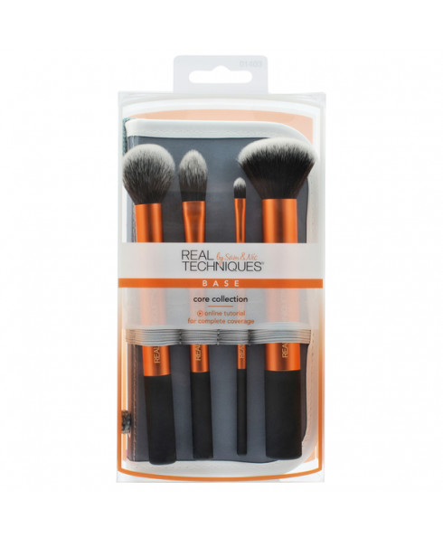Real Techniques Core Collection 4 Piece Brush Set