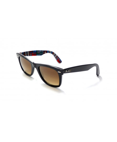 Ray-Ban Wayfarer Sunglasses - Black with Red Print