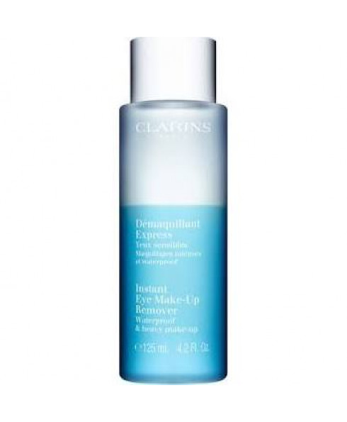 Clarins Instant Eye Make-Up Remover for Waterproof & Heavy Makeup - 125ml