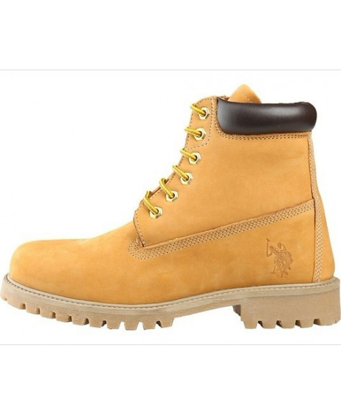 U.S. POLO Women boots Yellow