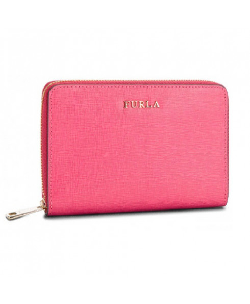 Furla Babylon Medium Zip Around Wallet in Ortensia
