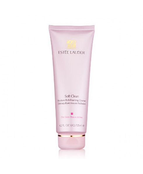Estee Lauder Soft Clean Moisture Rich Foaming Cleanser 125ml