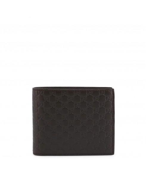 Gucci Brown Microguccissima Leather Wallet
