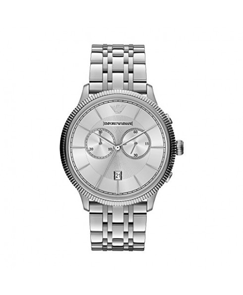 Emporio Armani Classic Chronograph Men's Watch - Silver