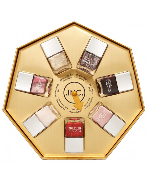 Nails Inc - 7 Piece Your Fortune Collection & Gift Box (7 x 14ml)
