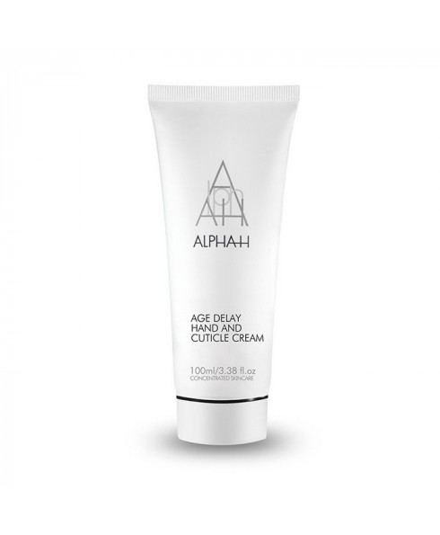 Alpha-H Age Delay Hand & Cuticle Care Cream With Glycolic Acid 100ml