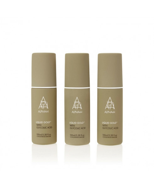 Alpha-H Liquid Gold Trio - 3 x 100ml