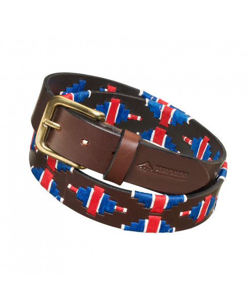 Pampeano Polo Belt - 'British Flag' Limited Edition