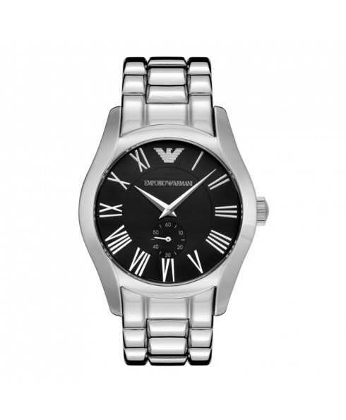 Emporio Armani Mens Watch - Silver and Black