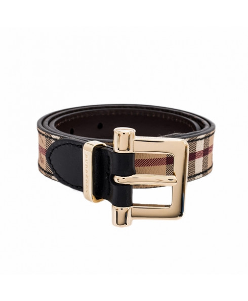 Burberry Dells Haymarket Belt - Black