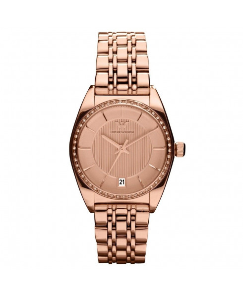 Emporio Armani Classic Ladies Watch - Rose Gold