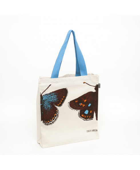 Talented Cherith Harrison Tote Bag - Lone Butterfly