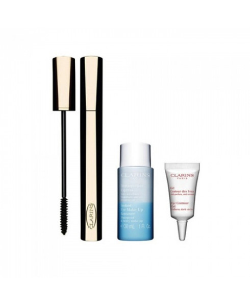 Clarins Wonder Perfect Mascara Set With Eye Make Up Remover