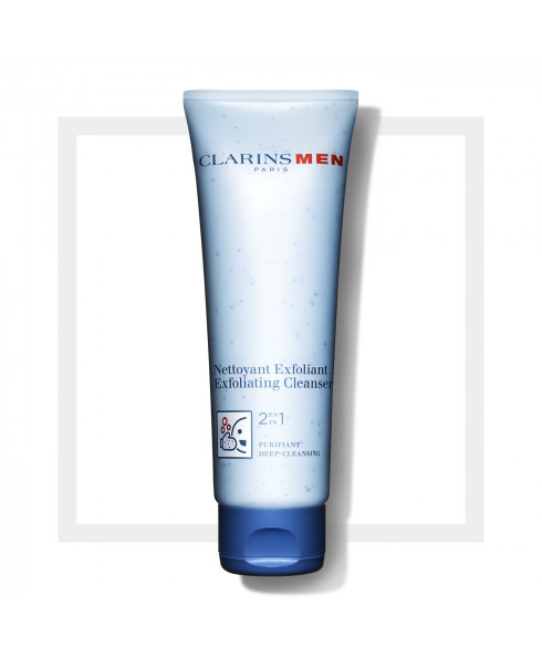 Clarins Mens Exfoliating Cleanser- 125ml