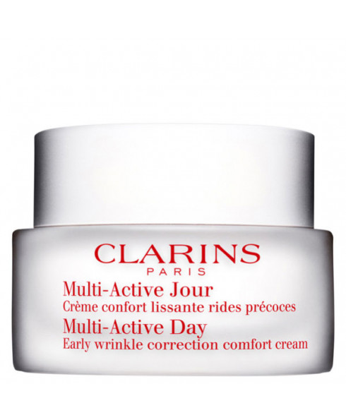 Clarins Multi Active Day Early Wrinkle Correction Comfort Cream For Dry Skin - 50ml