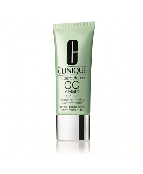Clinique Superdefense CC Cream Colour Correcting Skin Protector in Light/Medium - SPF 30 - 15ml