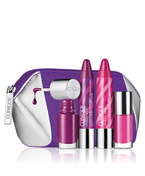 Clinique Chubby Stick Lips & Nails Gift Set