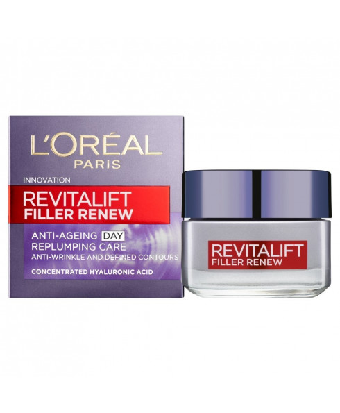 L'Oreal Paris Revitalift Filler Renew Anti-Ageing Day Replumping Cream - 50ml