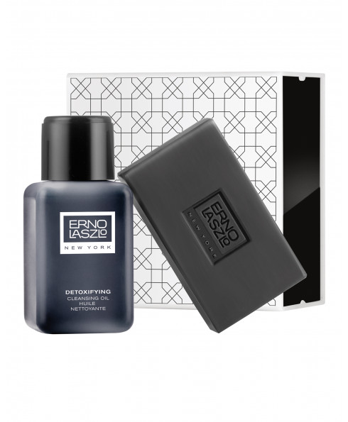 erno laszlo 614969500695 - Detoxifying Double Cleanse Travel Set