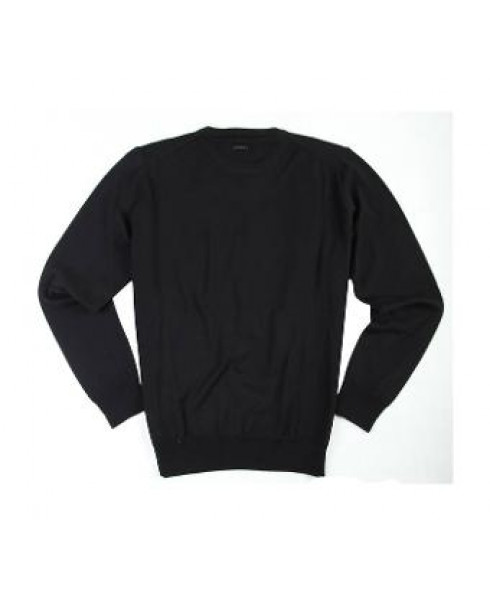 Guess by Marciano Men's Jumper Wool and Cashmere- Black (Medium)