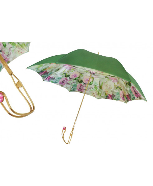 Pasotti Women Beautiful Roses Umbrella