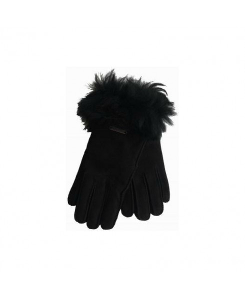 Hortons England Elsfield Sheepskin Gloves - Black