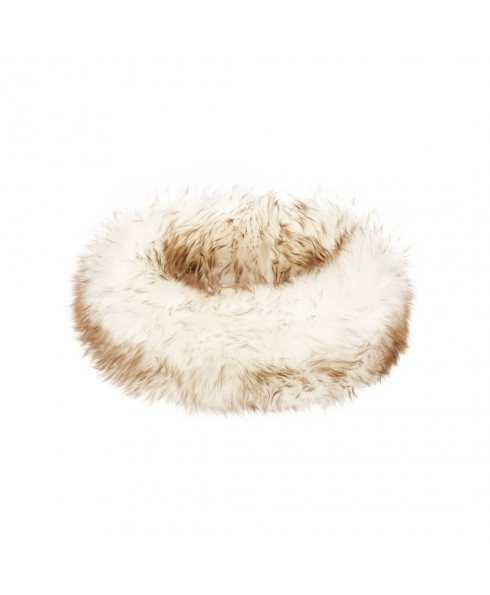 Hortons Oakley Ladies Sheepskin Headband - Natural Tip