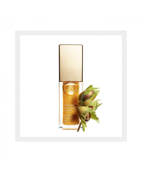 Clarins Instant Light Lip Comfort Oil - Honey Glam