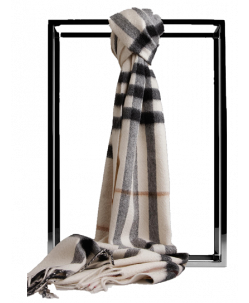 Burberry 100% Cashmere Scarf for Women&Men (Unisex)