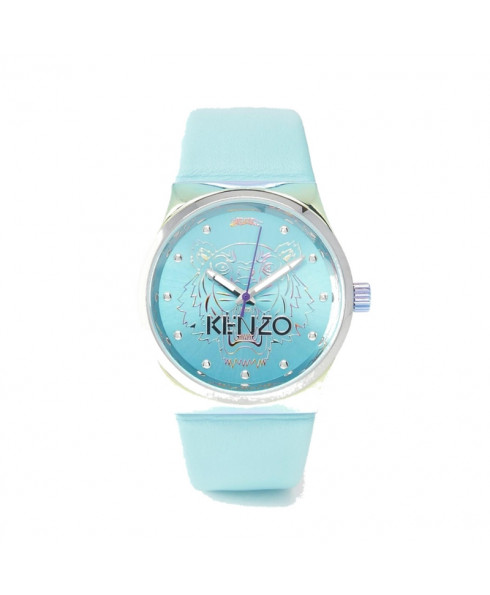 Kenzo Silicone Tiger Head Watch - Turquoise