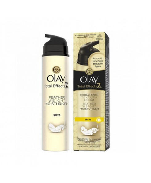 Olay Total Effects Featherweight 7in1 Anti-Ageing Moisturiser SPF15 - 50ml
