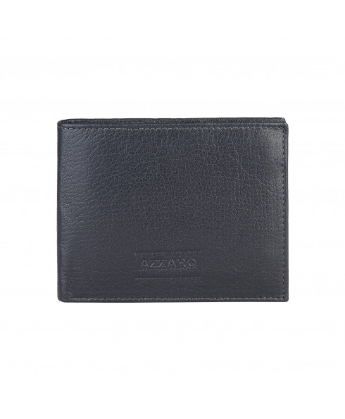 Azzaro 'Marion' Leather Wallet - Dark Navy