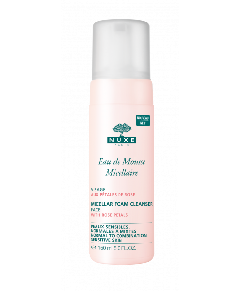 Nuxe Micellar Foam Cleanser with Rose Petals - 150ml