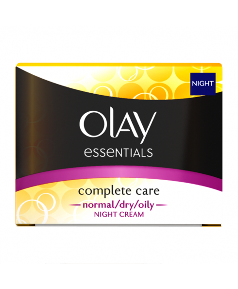 Olay Essentials 'Complete Care' Night Cream for Normal/Dry/Oily Skin - 50ml