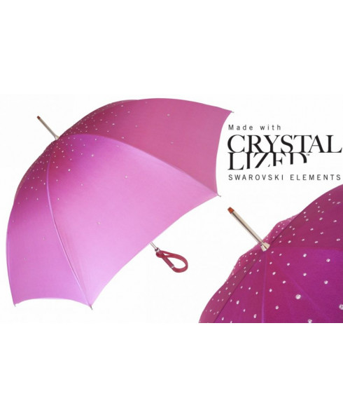 Pasotti Manual opening Double cloth Swarovski umbrella