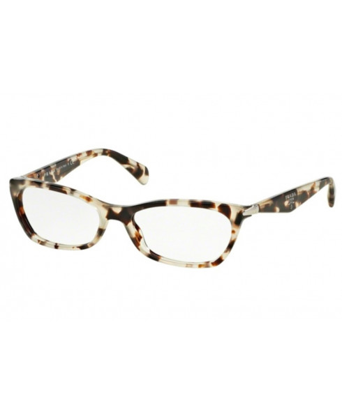 Prada 'Swing' Glasses UA0101- Beige/Black