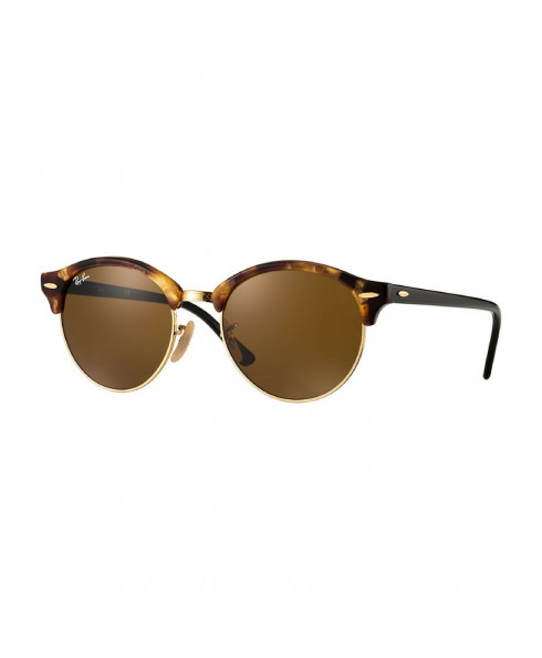 Ray-Ban Clubround Classic Sunglasses - Tortoiseshell (Brown Lenses)