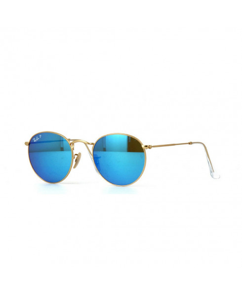 Ray-Ban Round Metal Sunglasses - Blue
