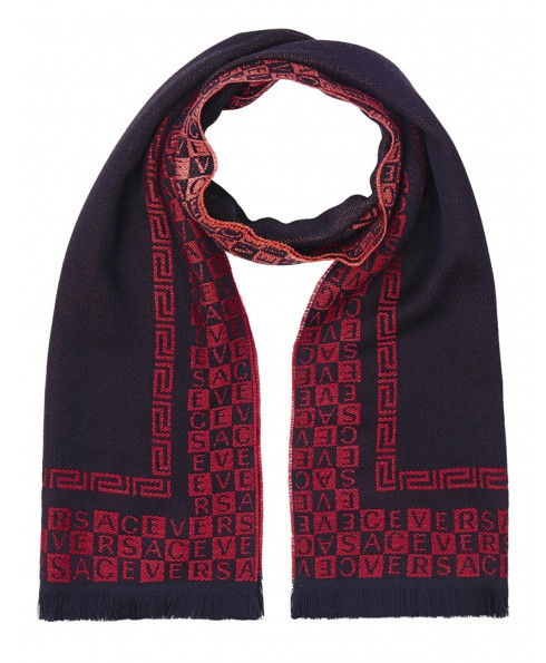 Versace Wool Scarf - Red