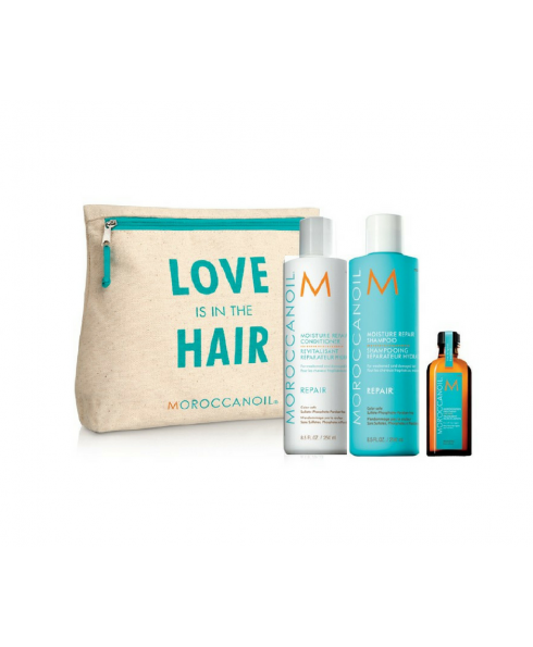 Moroccan Oil 'Love is in the Hair' Collection Repair Gift Set