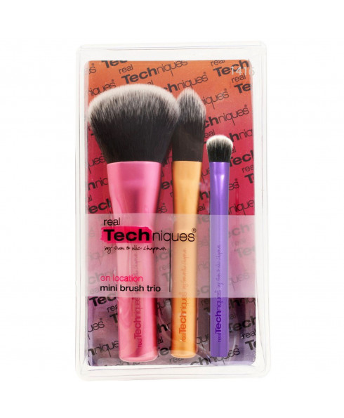 Real Techniques Mini Brush Trio 3 Piece Brush Set