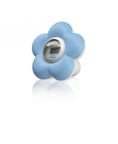 Philips Avent Baby Bath and Room Digital Thermometer - Blue