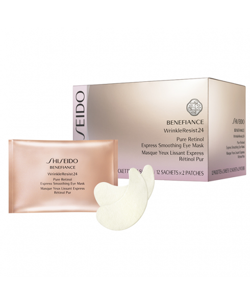 Shiseido Benefiance WrinkleResist24 Retinol Eye Mask - 12 Pack