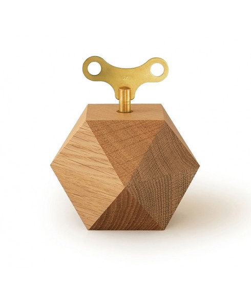 Siebensachen by Adam + Harborth Diamond Music Box in Oak
