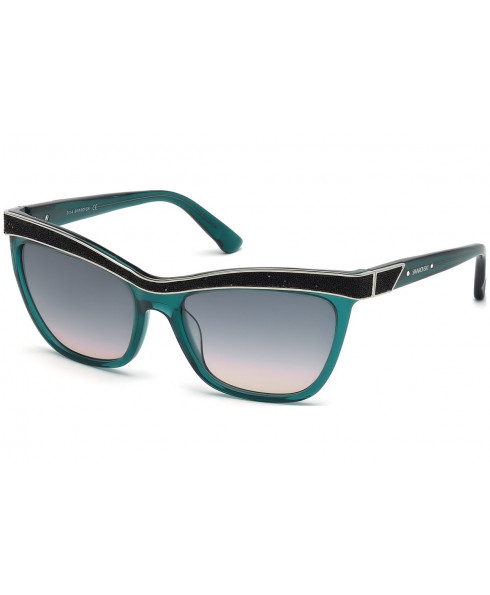 Swarovski Women Sunglasses - Aquamarine/Black