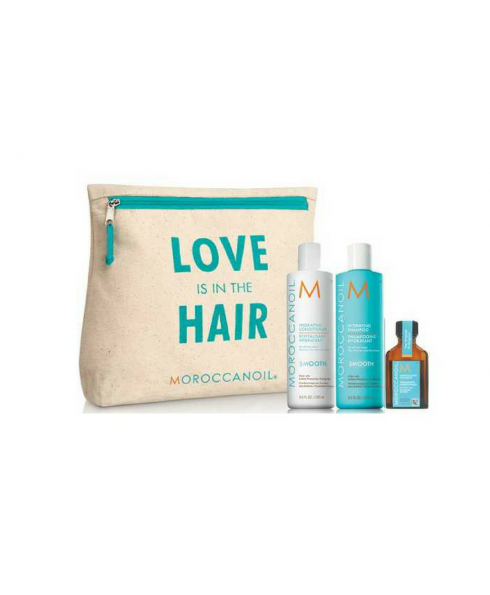 Moroccan Oil 'Love is in the Hair' Collection Smooth Gift Set