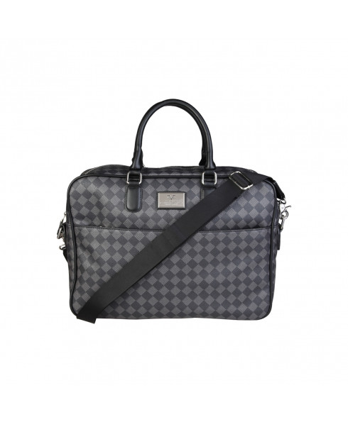 V 1969 Laptop Bag - Black/Grey