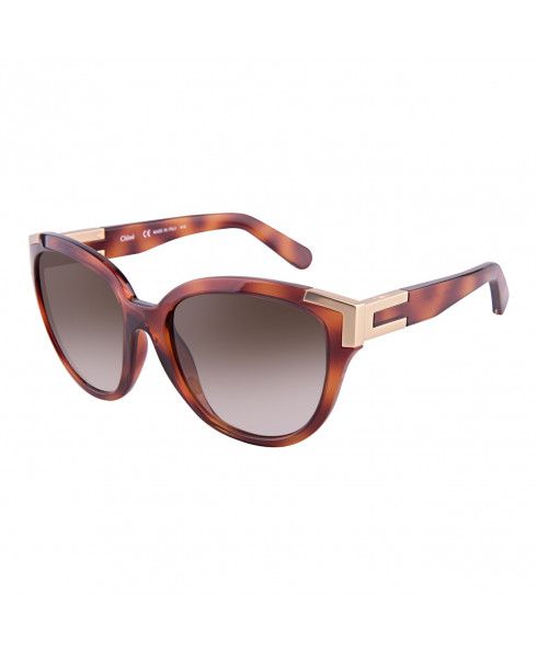 Chloe CE635S 214 - 'Alexi' Sunglasses Light Havana Print
